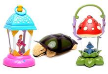 Дитячі нічники, світильники та проектори