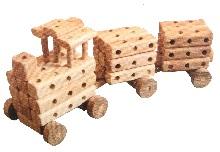 Дерев'яні конструктори