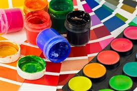 Краски школьные