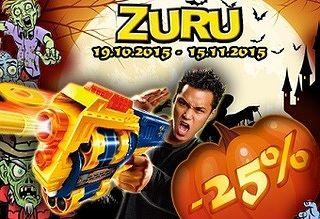 Акция к Хэллоуину «ЗУРУ против Зомби!»