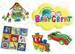 Весенняя новинка от бренда Baby Great - коврик-пазл!