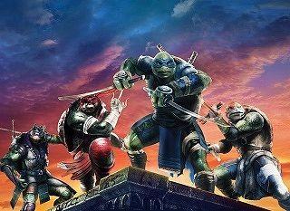 Легендарные мутанты возвращаются в фильме Черепашки-ниндзя 2!