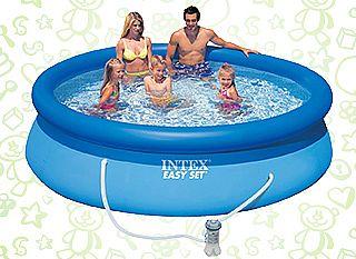 Топ-5 самых популярных надувных бассейнов лета 2013