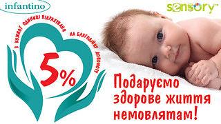 Благотворительная акция для новорожденных