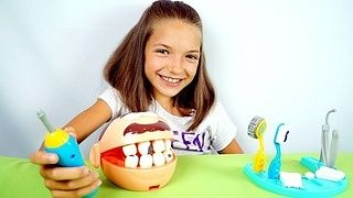 Интересно и безболезненно лечим зубки мистеру Зубастику