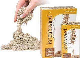 Встречайте кинетический песок Kinetic Sand!