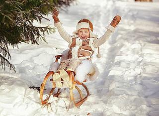 Детство без санок, как зима без снега!