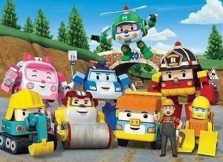Команда спасателей Робокар Поли ищет новых друзей!