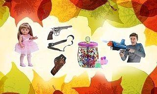 Осенний ценопад на Toys.com.ua!
